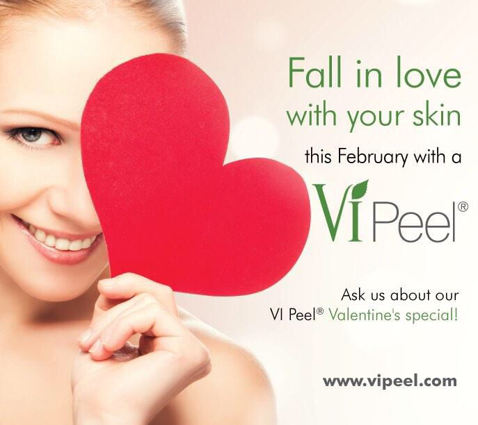 Look stunning this Valentine's Day with a VI Peel #vipeel #viderm #beauty #valentinesday #love