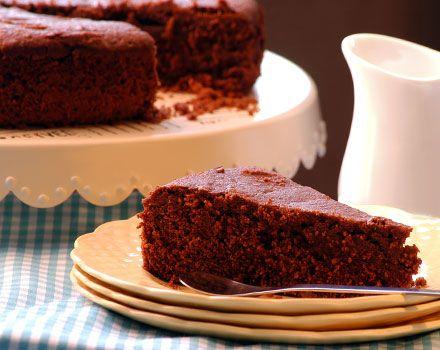 Chocolate cake de maíz