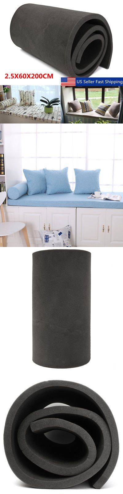 Styrofoam Forms 41200 1 X24 X79 High Density Seat Foam Rubber Replacement Upholstery Cushion Firm Buy It No Upholstery Cushions Seat Foam Seat Cushion Foam