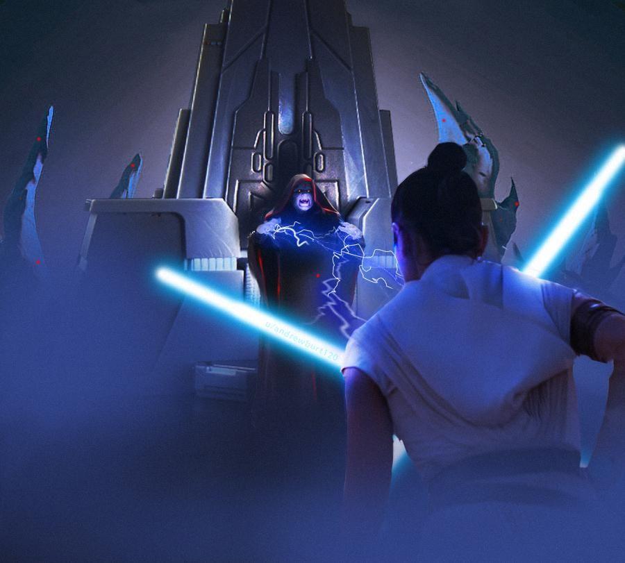 Rey Vs The Emperor Star Wars The Rise Of Skywalker 2019 With Images Star Wars Artwork Star Wars Pictures Rey Star Wars