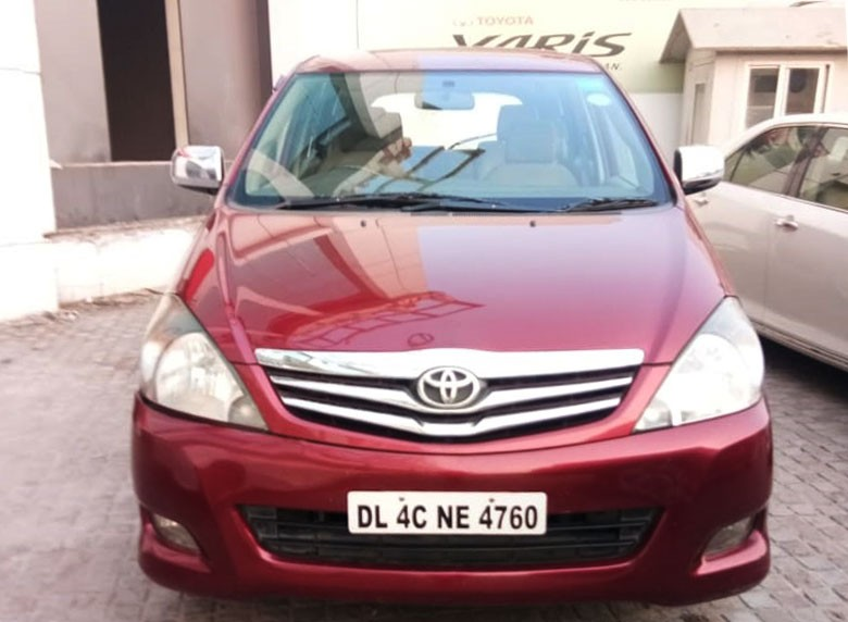 Buy genuine and certified used Toyota Innova at
