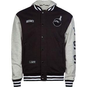 ROCKSMITH Champion Ninja Mens Jacket  rocksmith  varsityjacket  jacket   letterman  blackandwhite   393739f612c