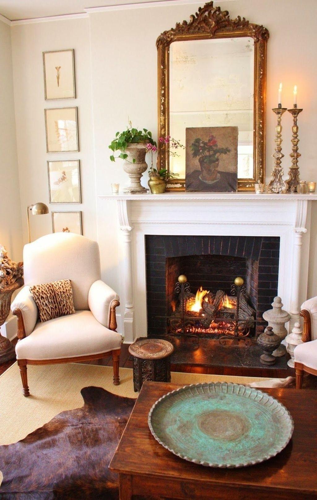 35+ rustic traditional living room design ideas - home decor & design | ev için