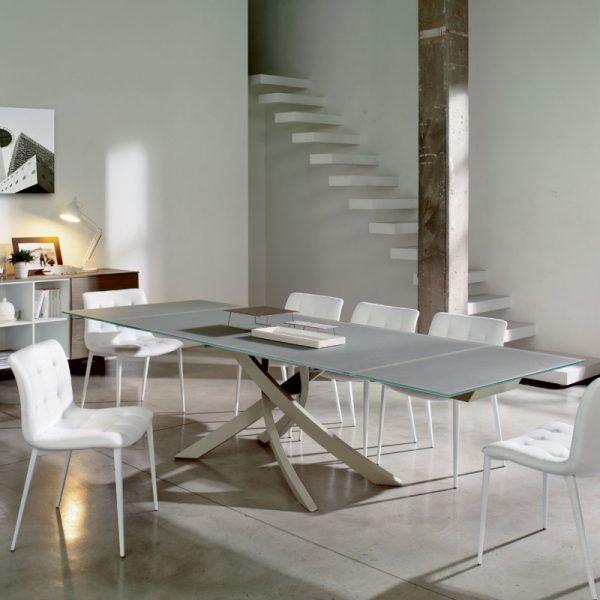 Ricci Casa Tavoli Allungabili.Tavolo Artistico Bontempi Casa Allungabile Tavolo Moderno