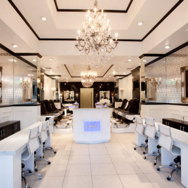 Posh Nail Spa, Dallas, TX | Projects in 2019 | Nail salon decor ...