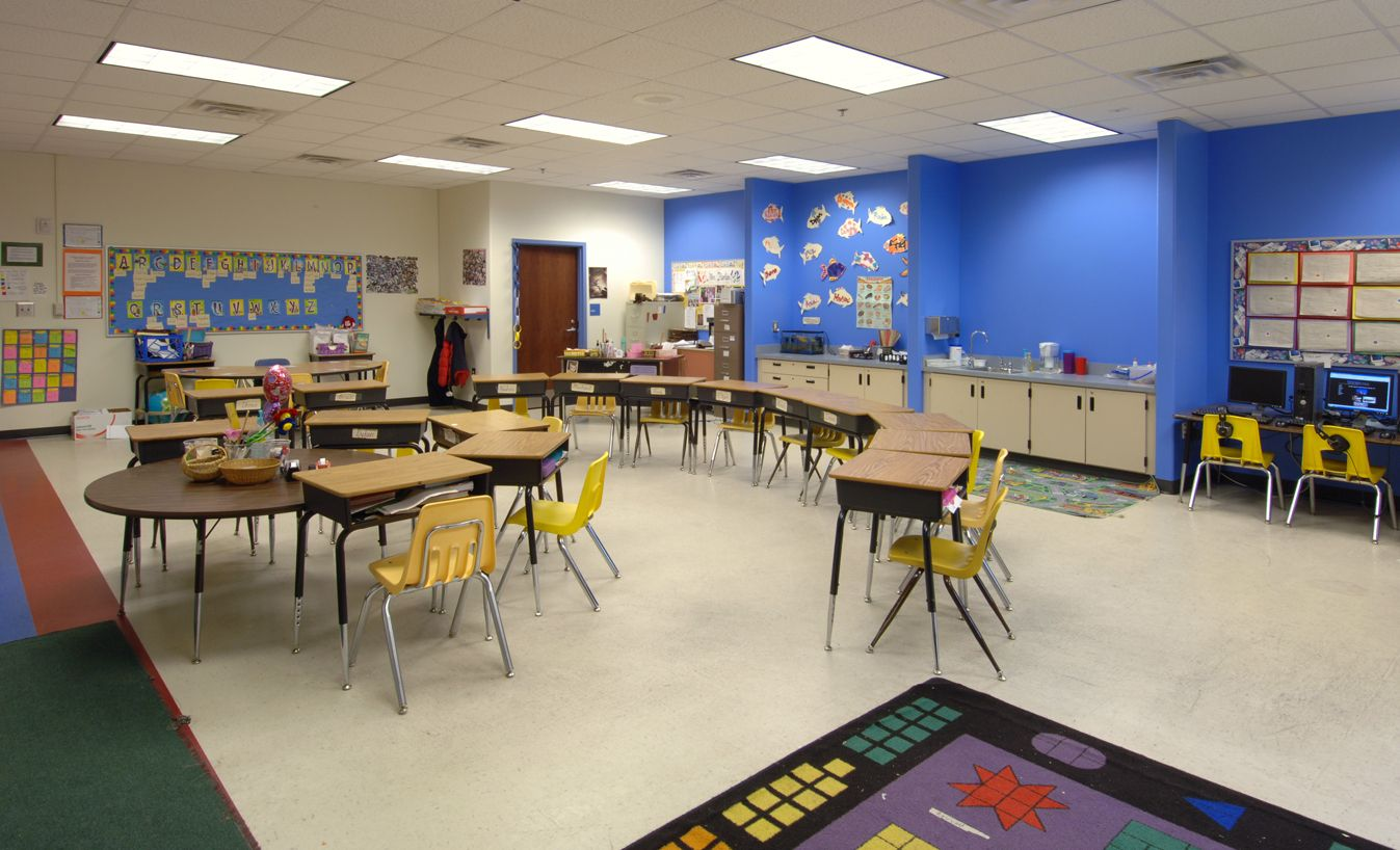 Classroom Design Ideas For Elementary : Elementary classroom design layout woodland