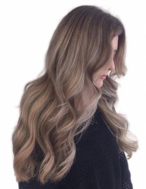 цвет волос пепельный шоколад фото