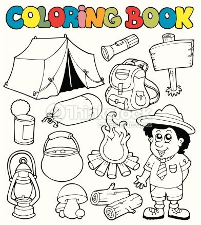 dibujos camping - Buscar con Google | Fun Learning S.L | Pinterest ...