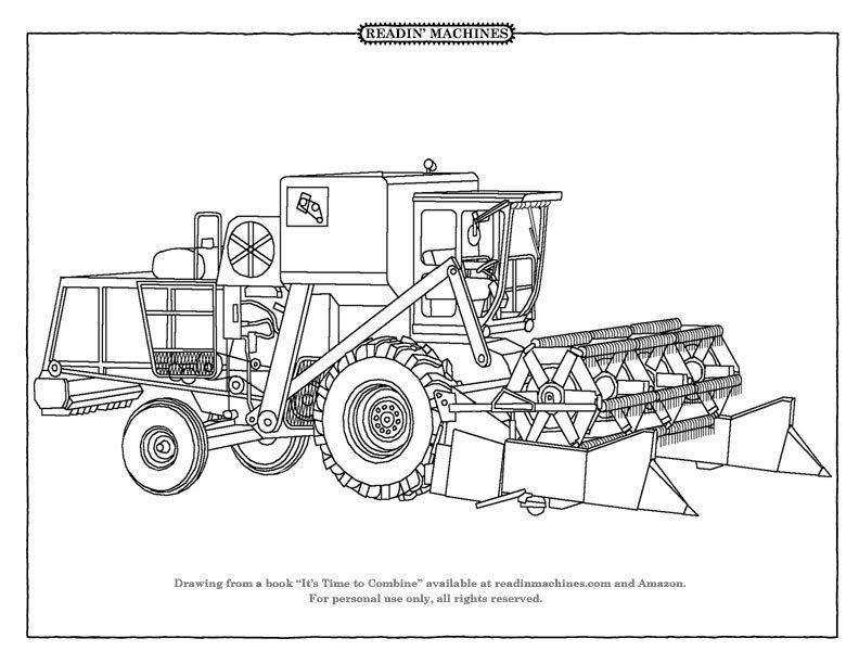 farm equipment coloring pages Google Search Tractor