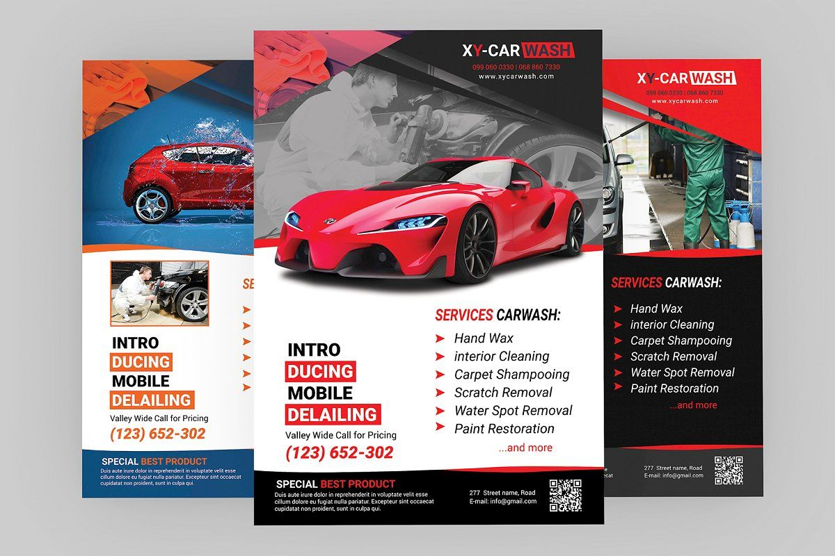 Car Wash Flyer Templates , Sponsored, quotPurchasing