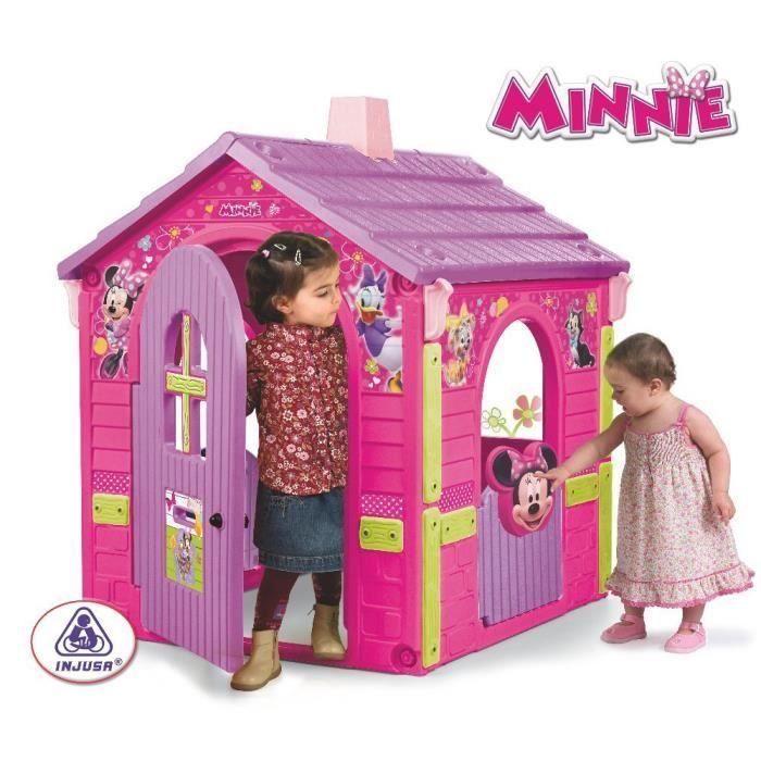Minnie maison enfant 109x95x121cm achat vente maisonnette ext rieure minnie maison - La petite boutique de minnie ...