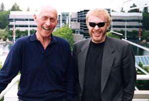Bill Bowerman & Phil Knight (founders of Nike)