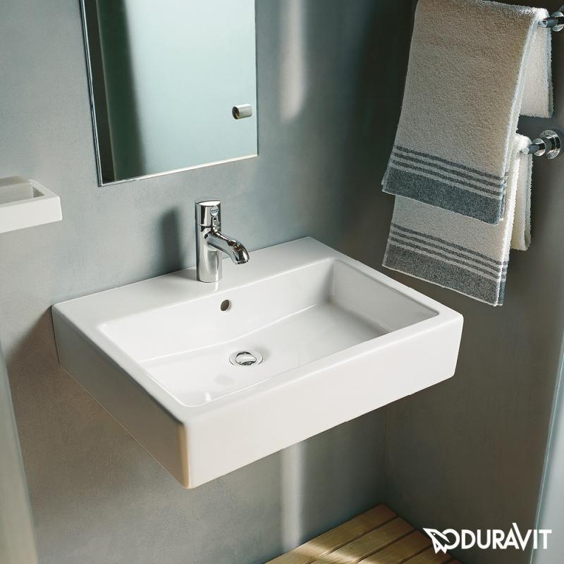 Duravit Vero Waschtisch 500x470mm Weiss Duravit Vero Waschtisch Duravit Waschtisch