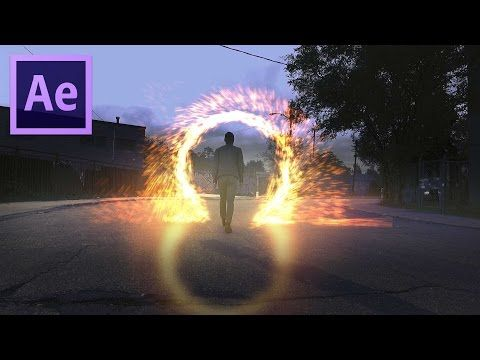 Doctor Strange Portal Effect After Effects Tutorial Youtube