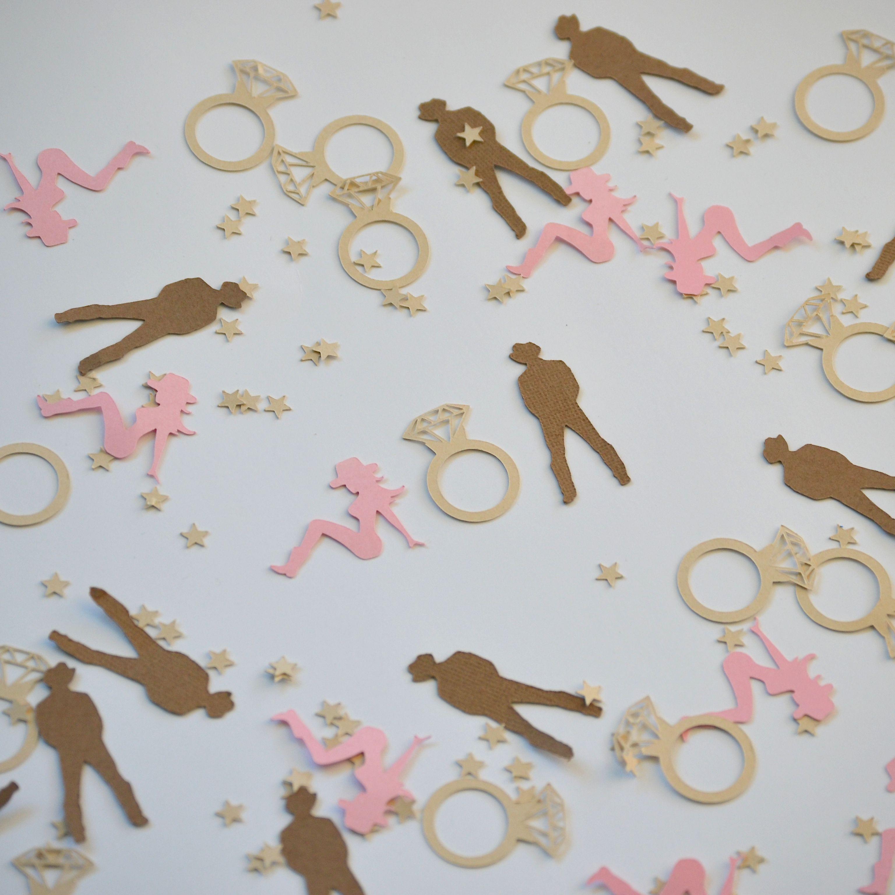 Cowboy & Cowgirl paper confetti. Fun idea for an ...