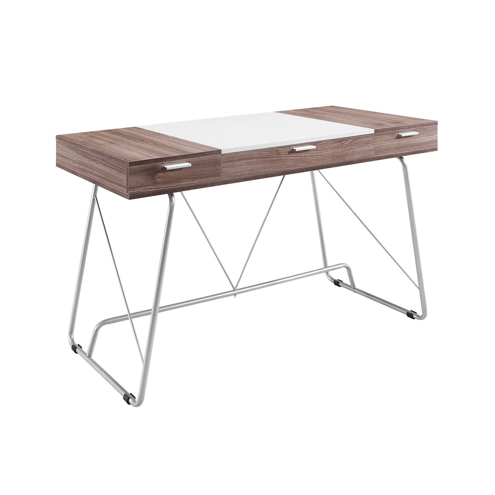 Desk Top Center Section With Hinges On Reverse To Convert Writing Table Into A Drafting