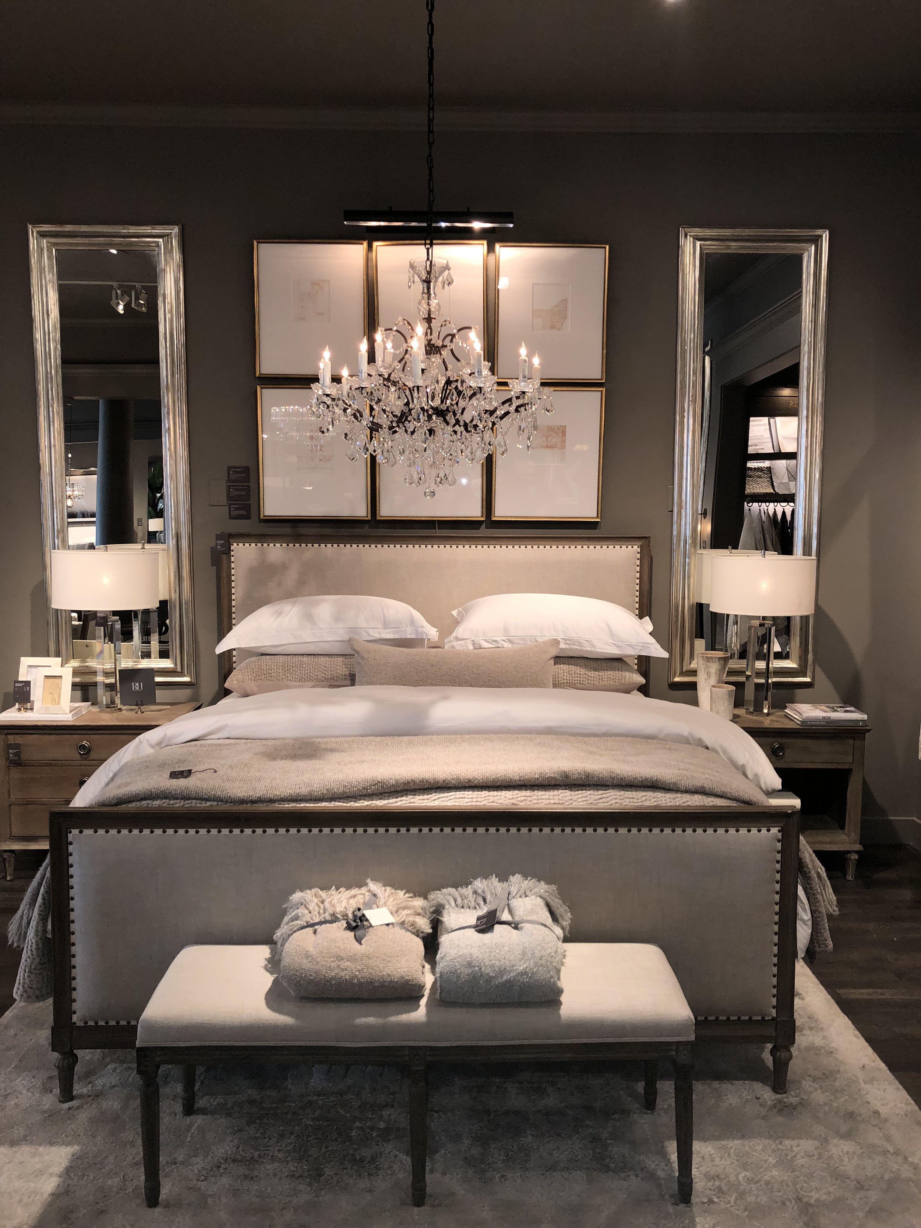 Restoration Hardware Bedroom  Luxury bedroom design, Master