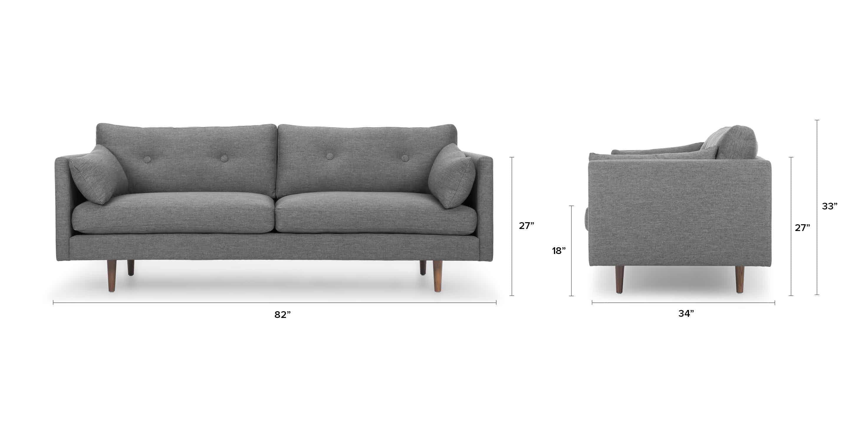 Red Velvet Tufted Sofa Upholstered