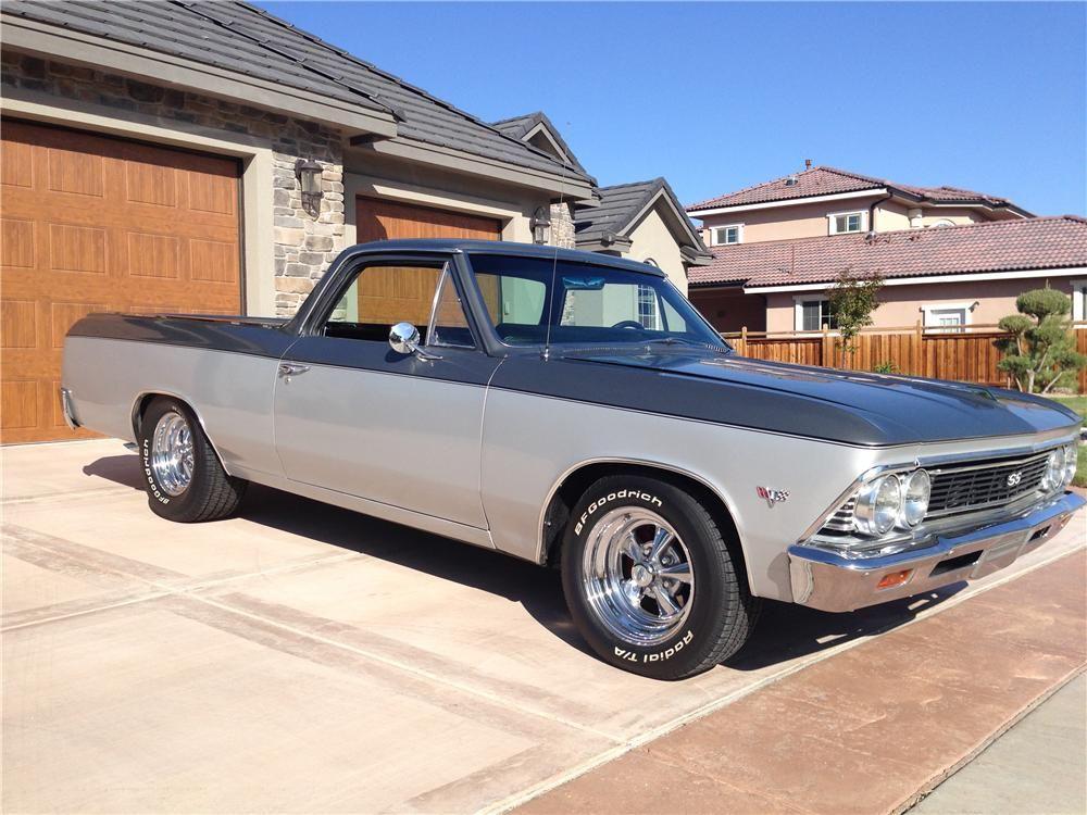 Sold At Reno Tahoe 2014 Lot 49 1966 Chevrolet El Camino Custom Pickup Chevrolet El Camino Chevrolet El Camino