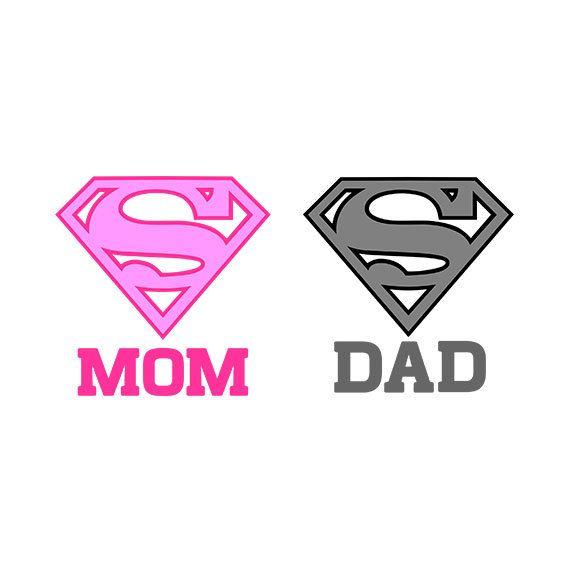 Supermom Svg Superdad Svg Super Dad Clipart Super Mom Super Mom Super Dad Supermom Logo