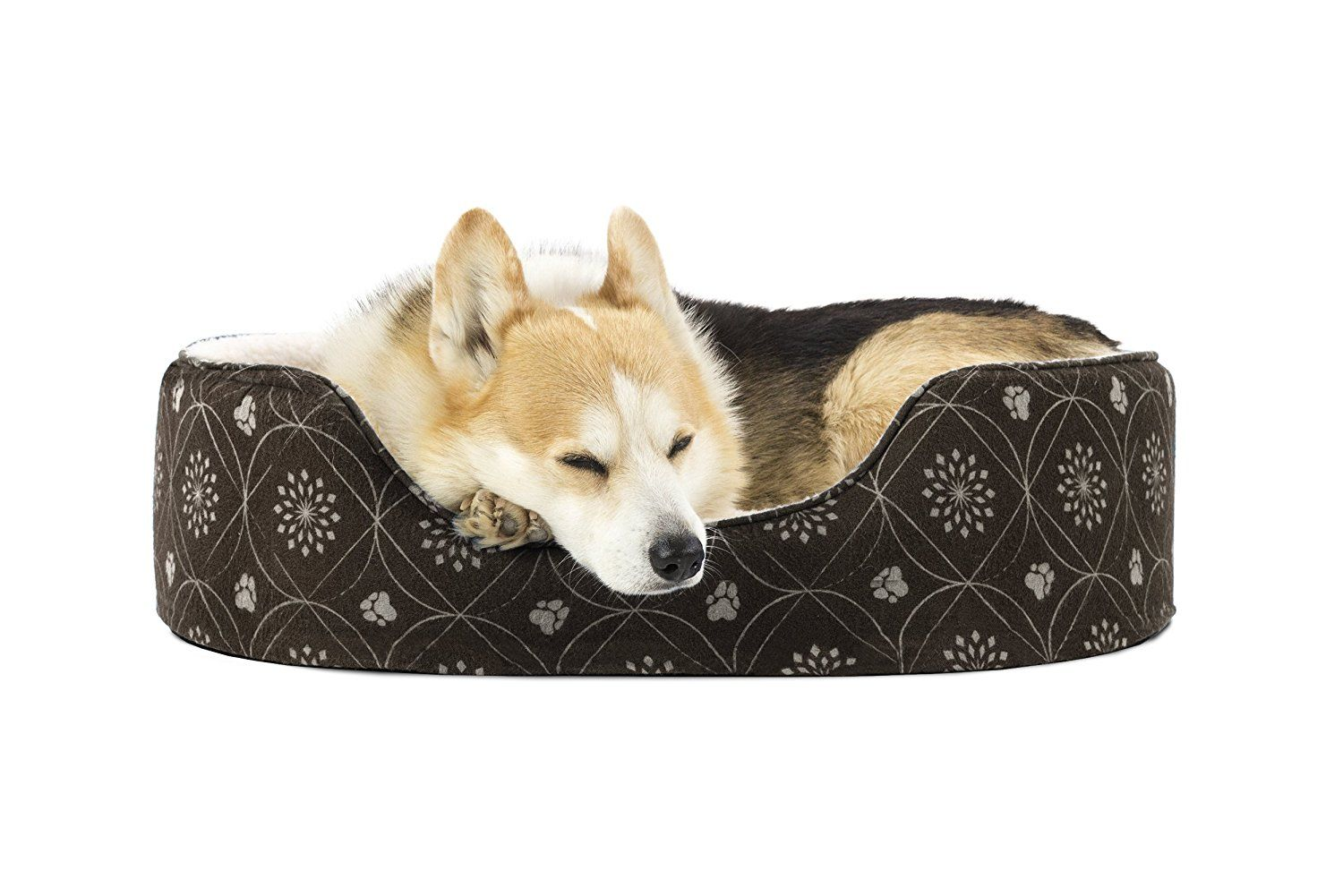 Furhaven Pet Nap Oval Lounger Bed For Dog Or Cat Continue To The Product At The Image Link This Is An Affiliat Mattress Dog Bed Dog Bed Furniture Dog Bed