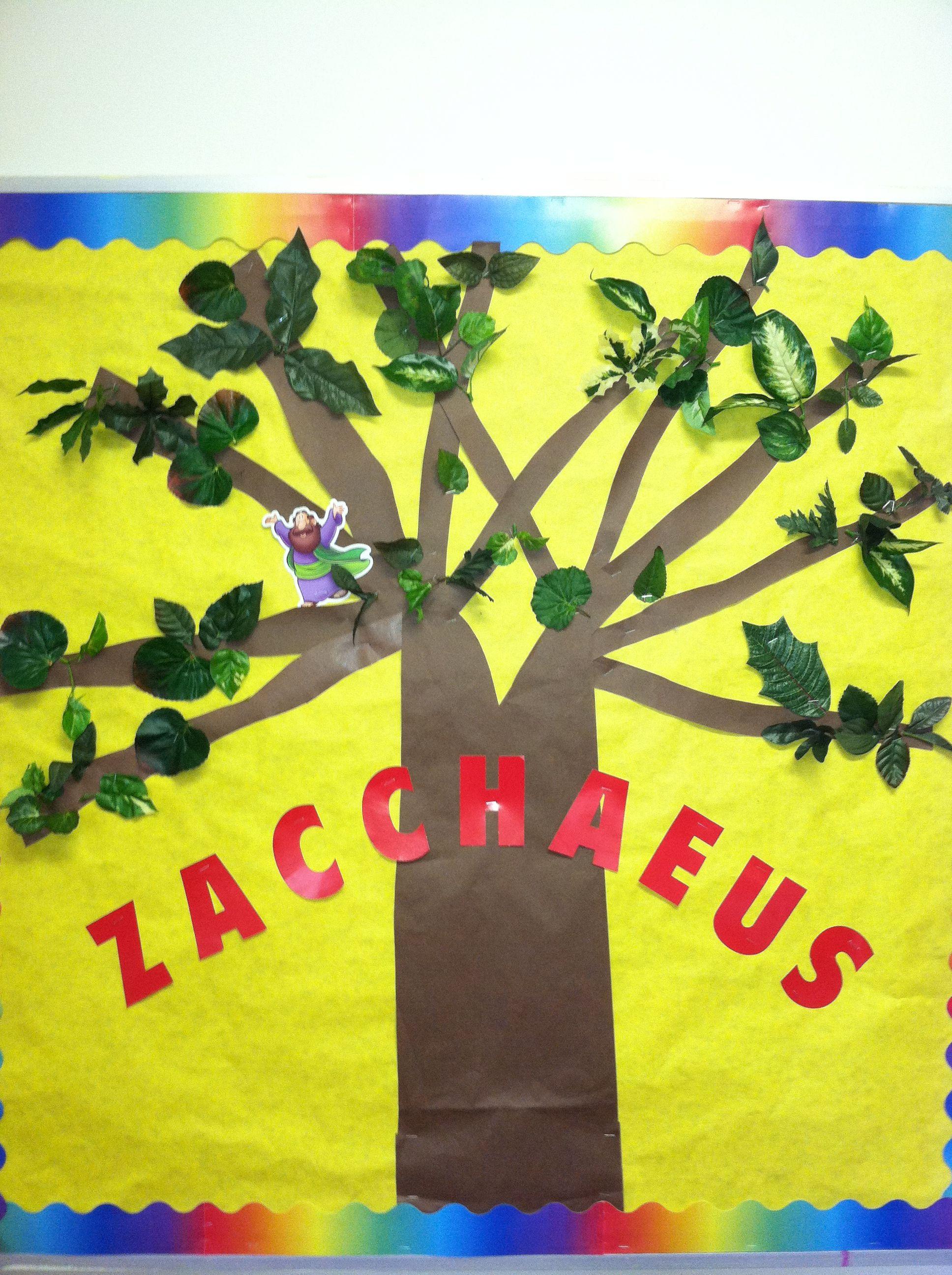 Zacchaeus Bulletin Board