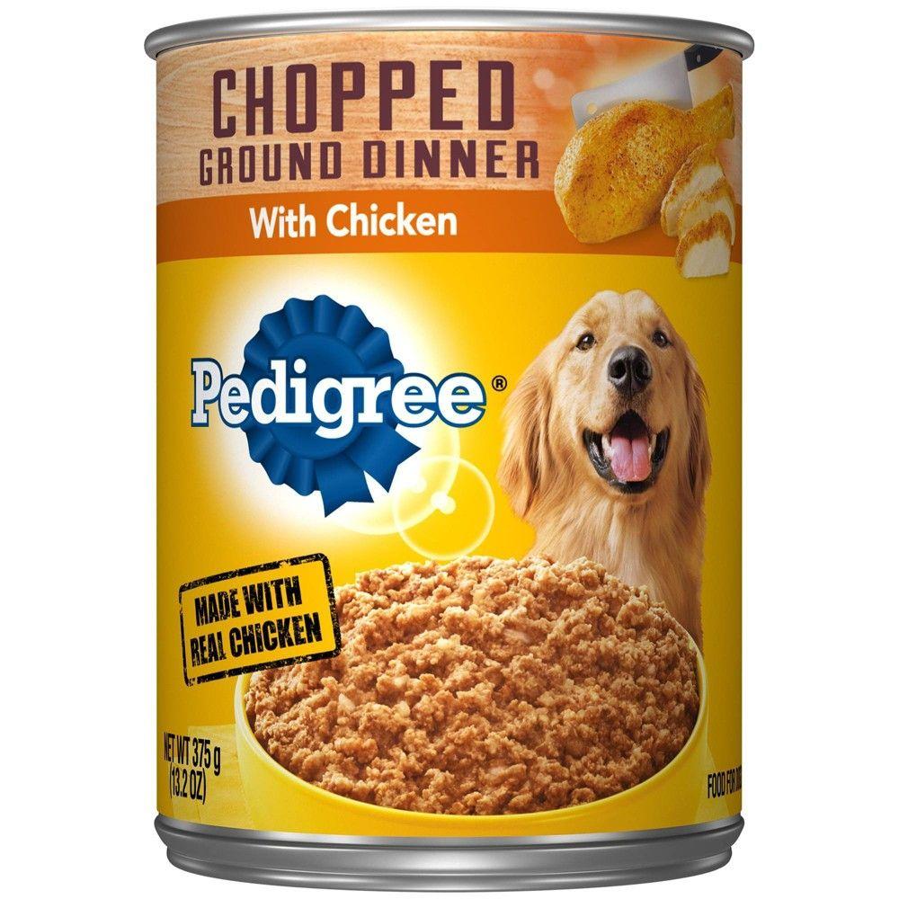 Pedigree Ground Chicken Wet Dog Food 13 2oz Dog Food Recipes
