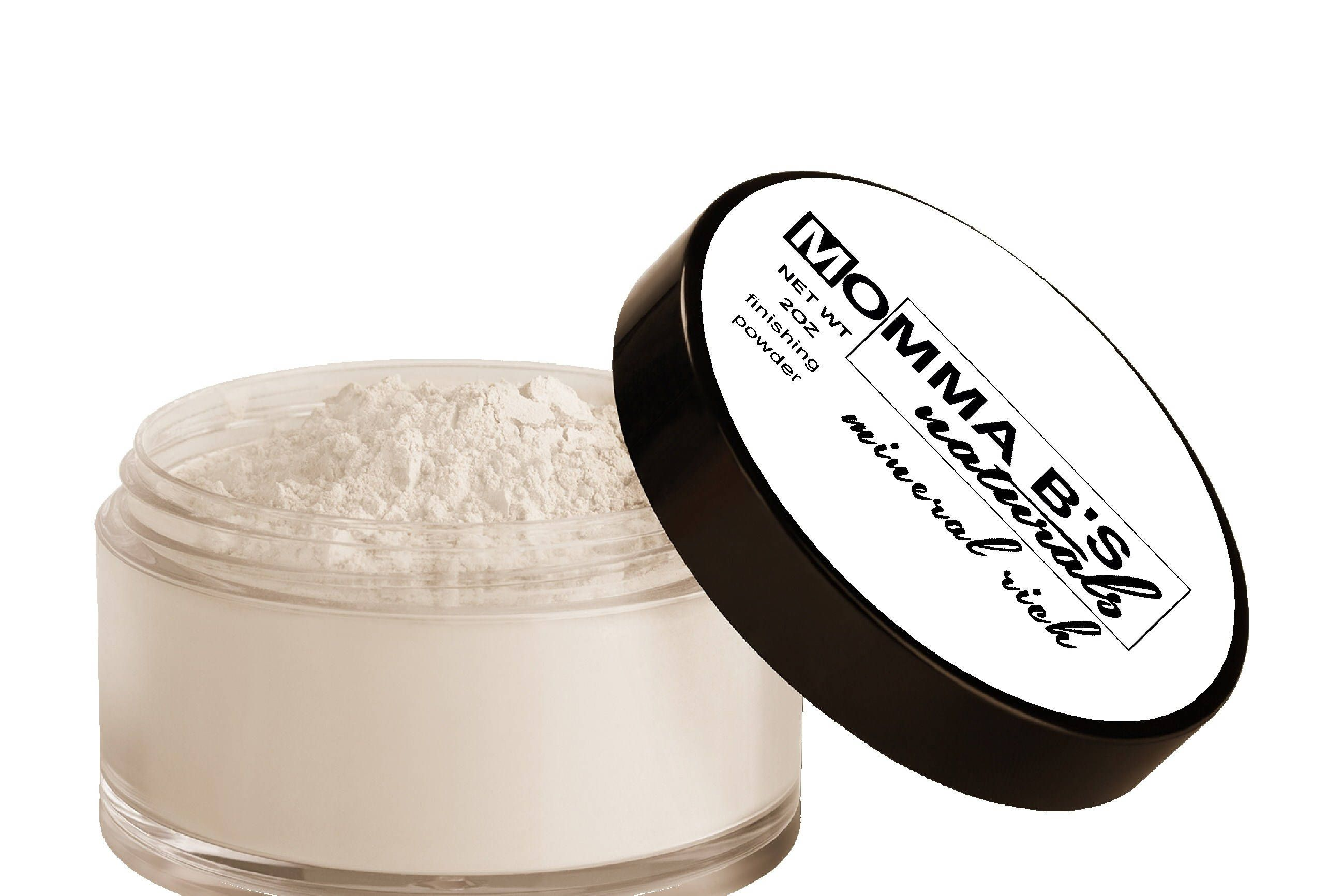 Sea Salt Setting Powder / Acne Healing Makeup / Matte