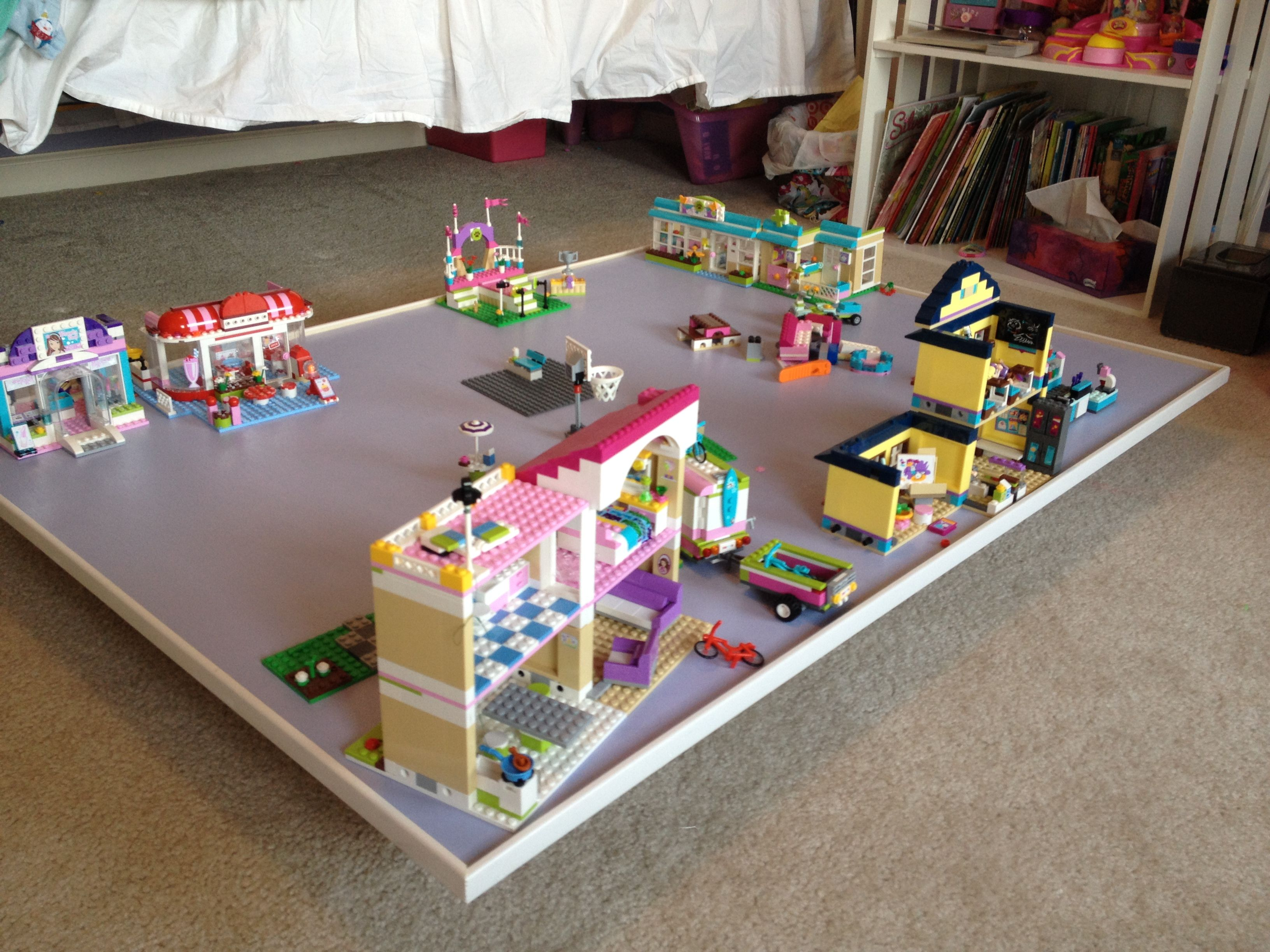 Under the bed Lego Friends Lego Tabled to find a way to make these for the