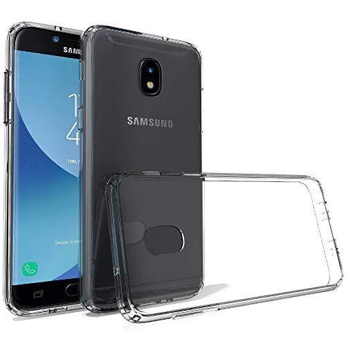 ShinyMax Samsung J3 2018 Case,Heavy Duty Transparent Soft Silicone Protective Cover Hybrid Shockproof Drop Absorption Slim Case for Galaxy J3 Luna Pro/J3 Prime/J3 Emerge/J3 Orbit (Clear) - CasesPhone -