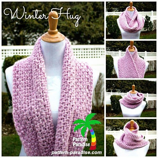 Free Crochet Pattern - Winter Hug by Pattern-Paradise.com #crochet ...