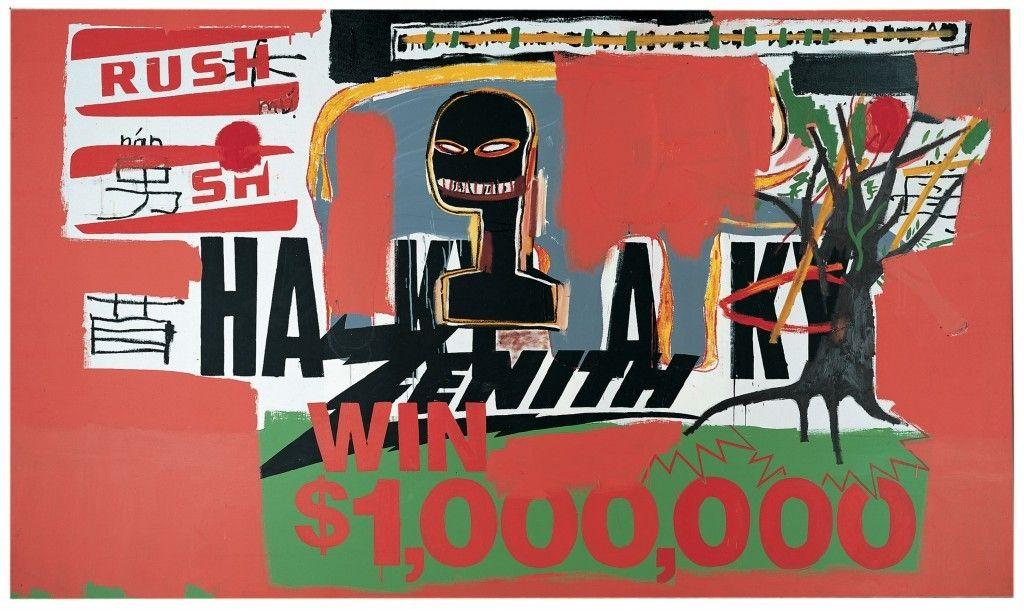 Basquiat/Warhol - Win $ 1'000'000 (1984) en 2020   Art contemporain,  Basquiat, Les oeuvres
