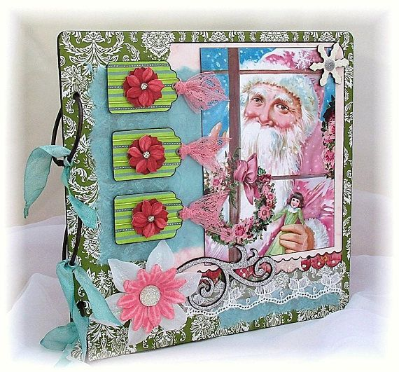 A Special Place For Your Christmas Memories. Chipboard
