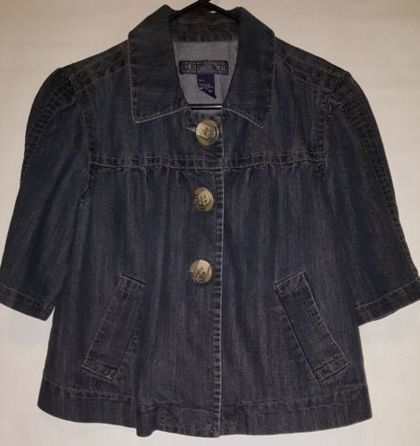 Women's Baccini Jean Jacket Size Large L https://t.co/civJ5oyOor https://t.co/civJ5oyOor