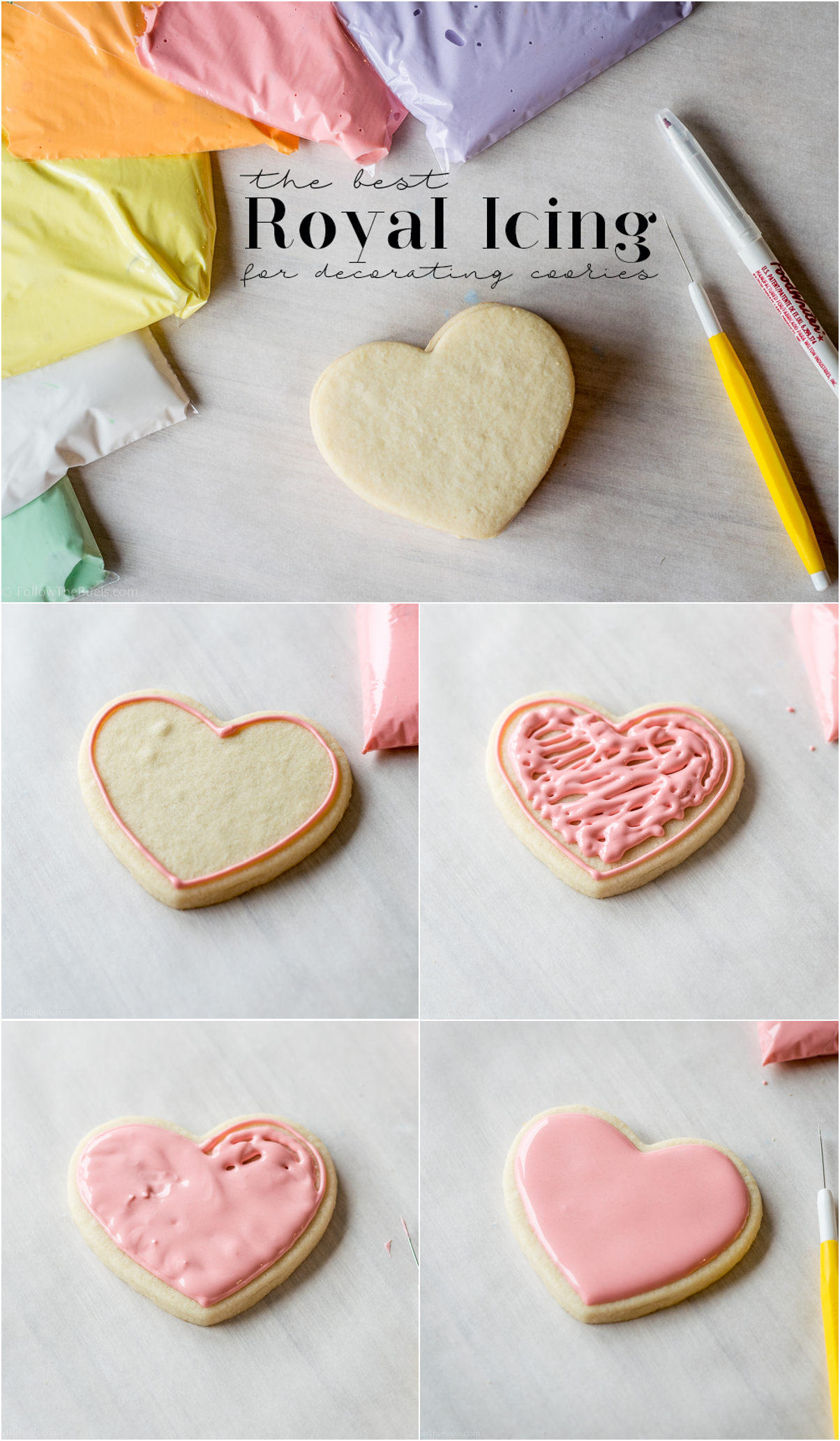 The best royal icing for decorating cookies. | Cookie ...