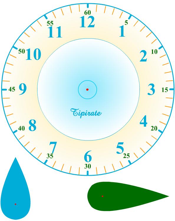 Préférence horloge à imprimer et à découper | Heure | Pinterest | Horloge  CA81