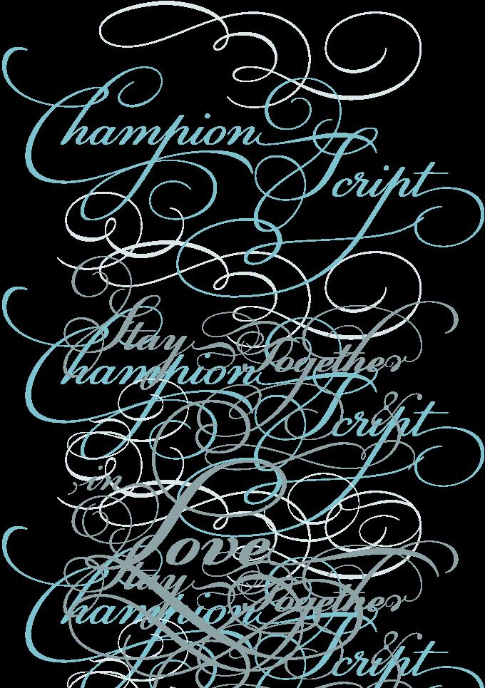 Champion Script Pro font sample | Travel Journal Ideas