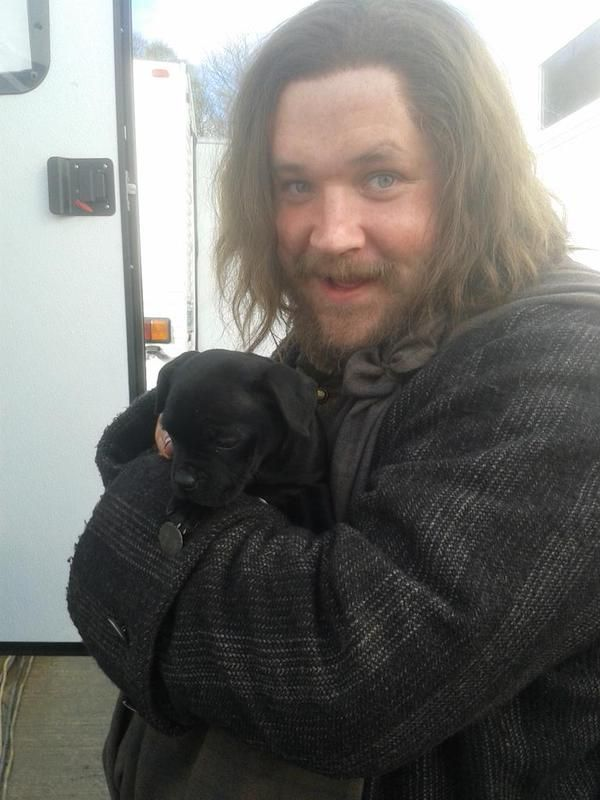 """Here's an old/new pic of Grant O'Rourke. """"To balance out the twee why not look at this pic while listening to Back in Black by AC/DC?"""" Source: GrantORourke"""