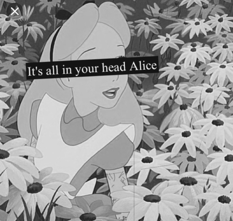 Image about black and white in Alice by spiritsighs