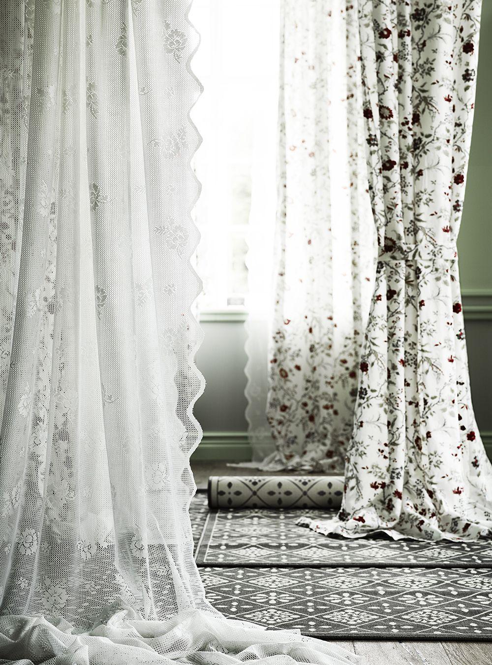 MYRTEN gardiner fra IKEA