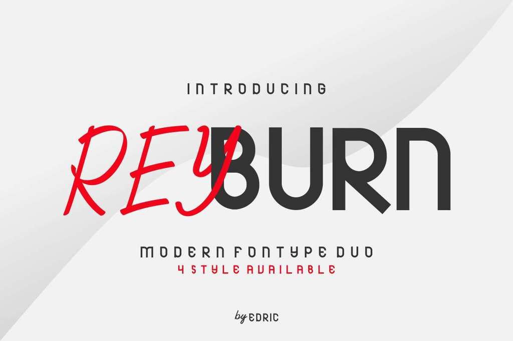 New Free Font Reyburn Demo By Edric Studio Free For Personal Use In 2020 New Fonts Sans Serif Fonts Serif Fonts