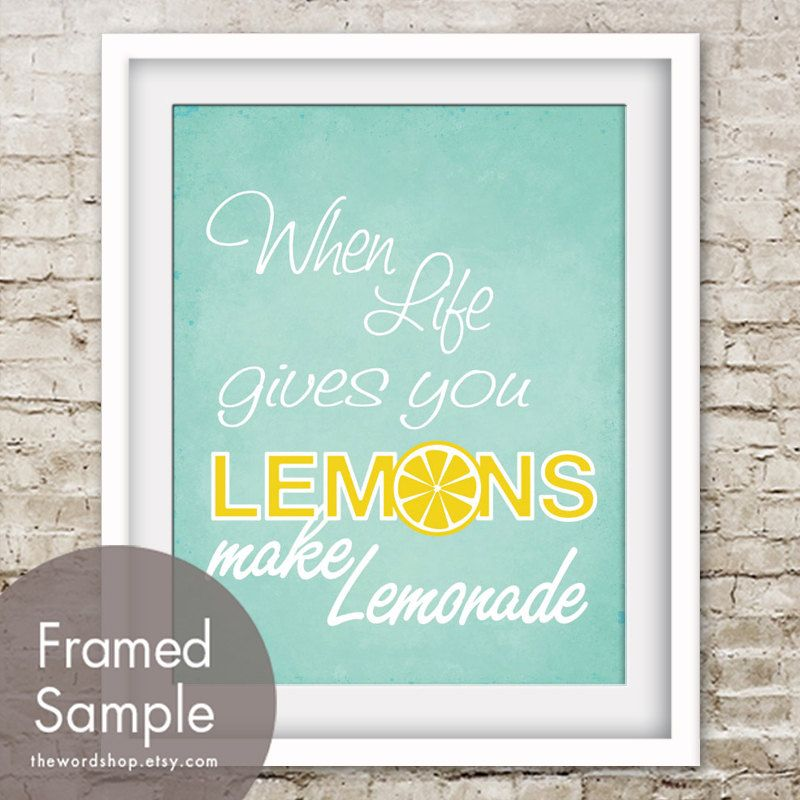 When Life Gives You Lemons Make Lemonade Quotes  Cutare Google