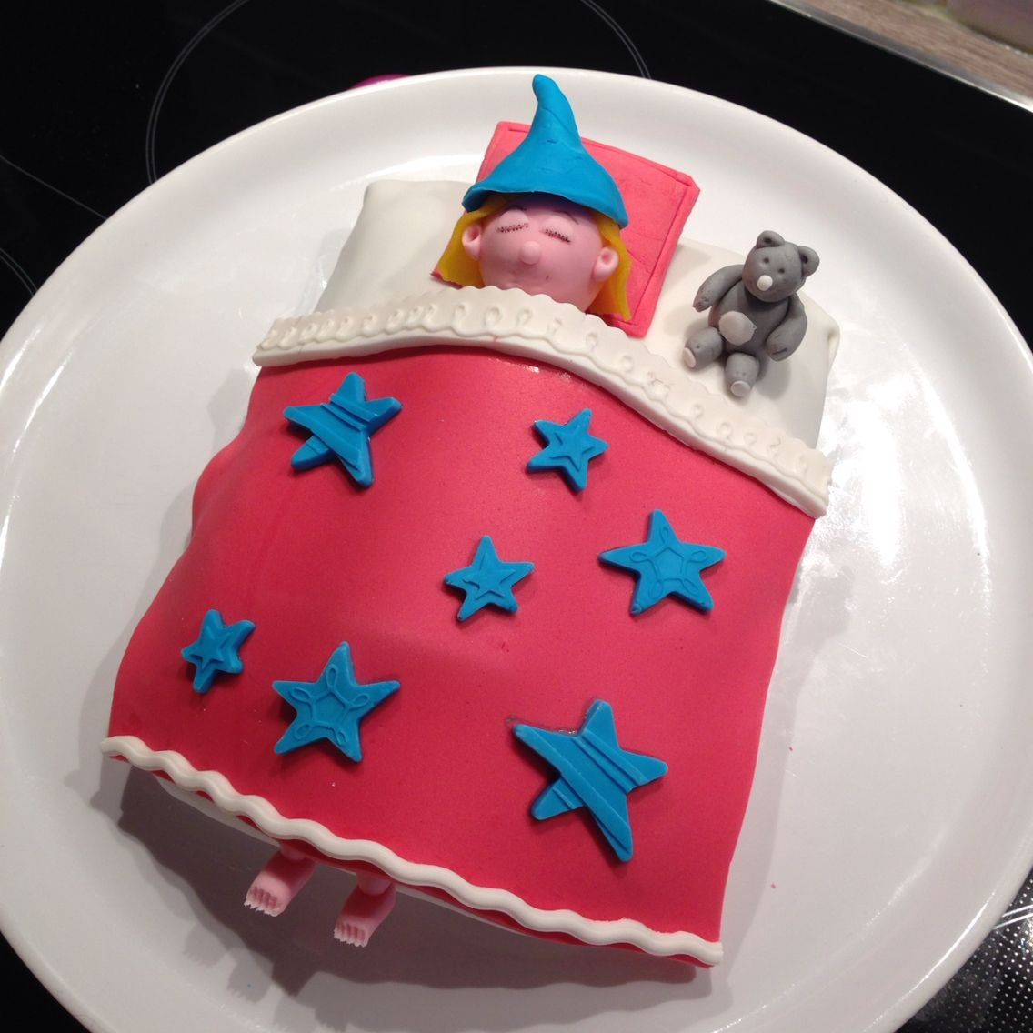 gteau pyjama party anniversaire 10ans fille sleepover party cake lescakesdemel - Gateau Anniversaire Fille 10 Ans