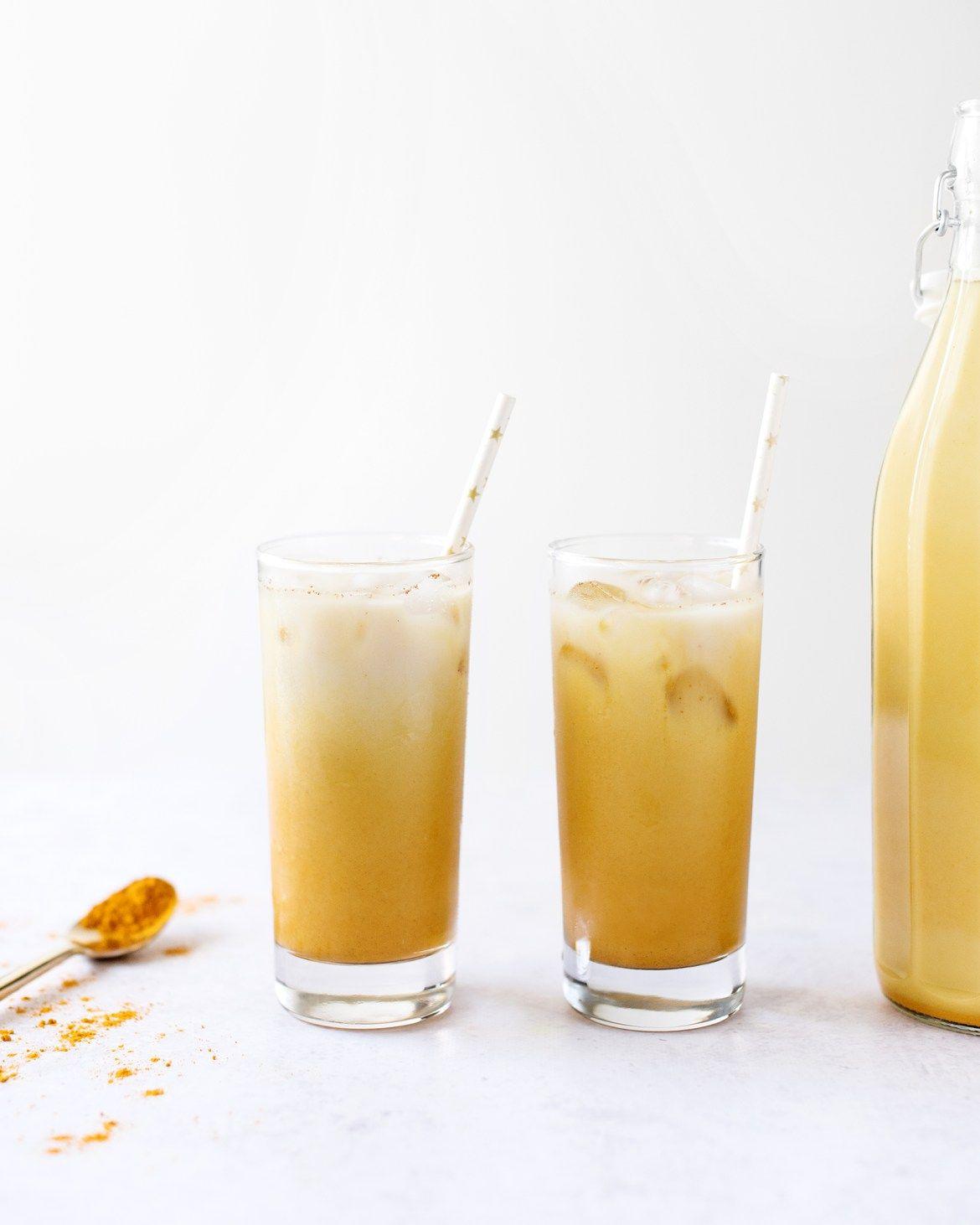 Iced Golden Turmeric Latte