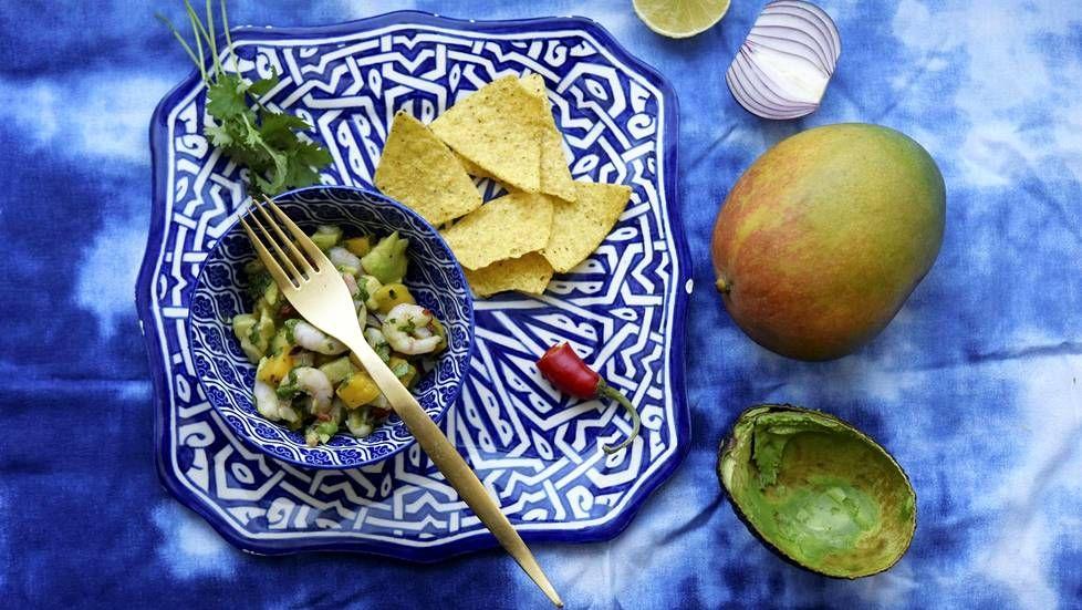 Katkarapu-ceviche