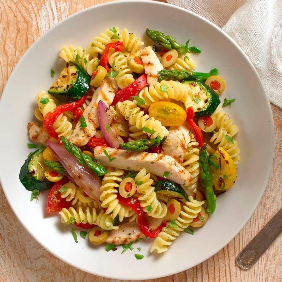 Pasta Pollo Y Verduras Healthy Recipes Workout Food Healthy Eating