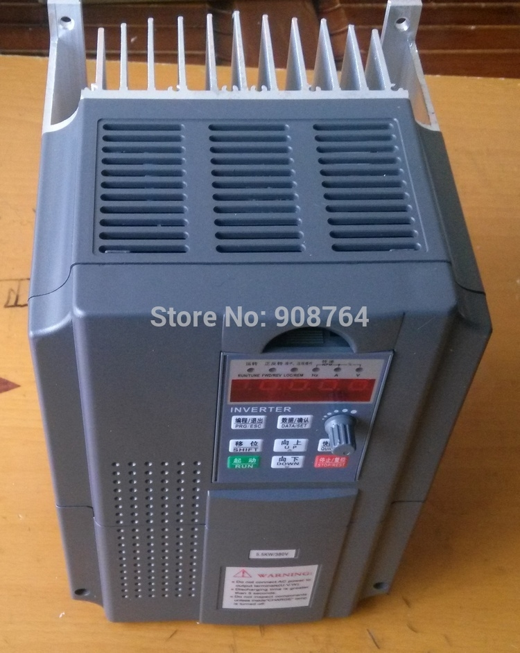 190.00$  Buy now - http://alikcu.worldwells.pw/go.php?t=566730281 - vfd inverter VARIABLE FREQUENCY DRIVE INVERTER  3 Phase 380V/220V  3.7KW CNC spindle  cheap price chine wholesale 190.00$