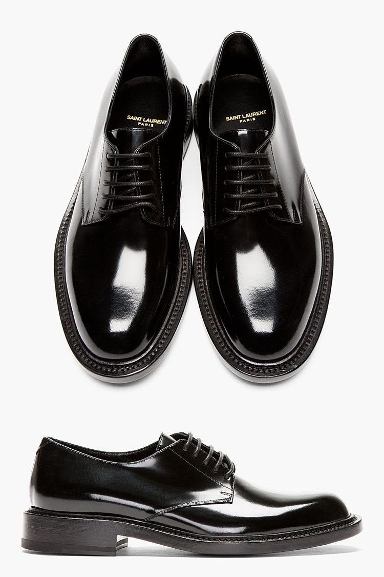 super cute 25556 fec26 Shiny Shoes, Mr. Fancy Saint Laurent Patent Leather