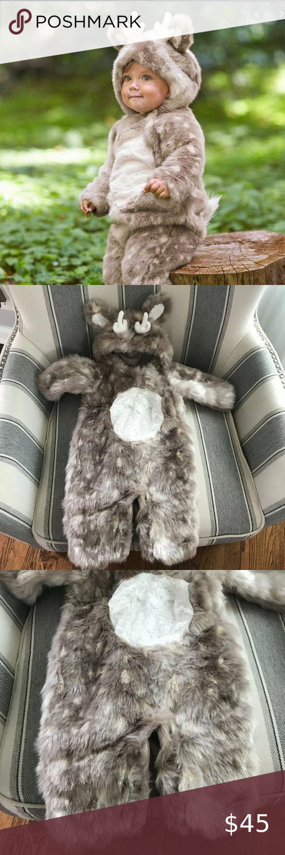 Pottery Barn Kids Baby Deer Costume 06 months in 2020