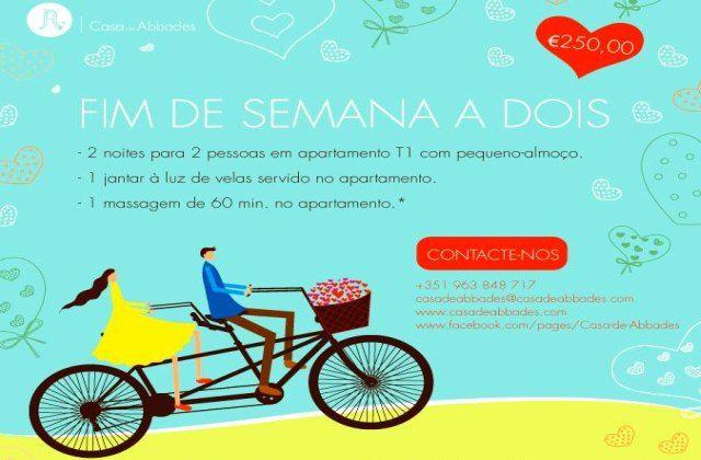 Venha passar um Fim-de-Semana a Dois na Casa de Abbades em Ponte de Lima | Escapadelas | #Portugal #PonteDeLima #Promocao